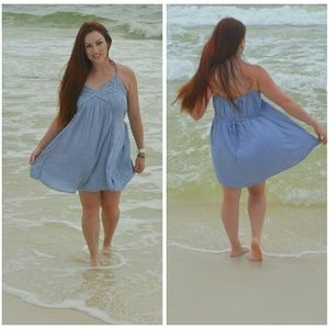 Nikibiki Blue Sea Siren Dress